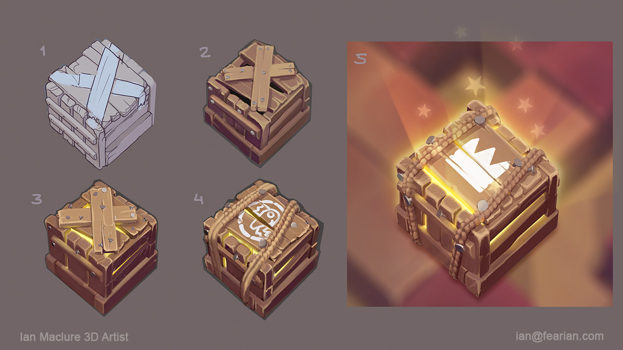 Development of concepts for the Collectable Crate