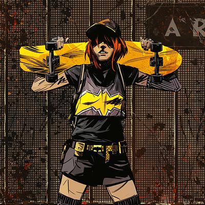 Well bee batgirl