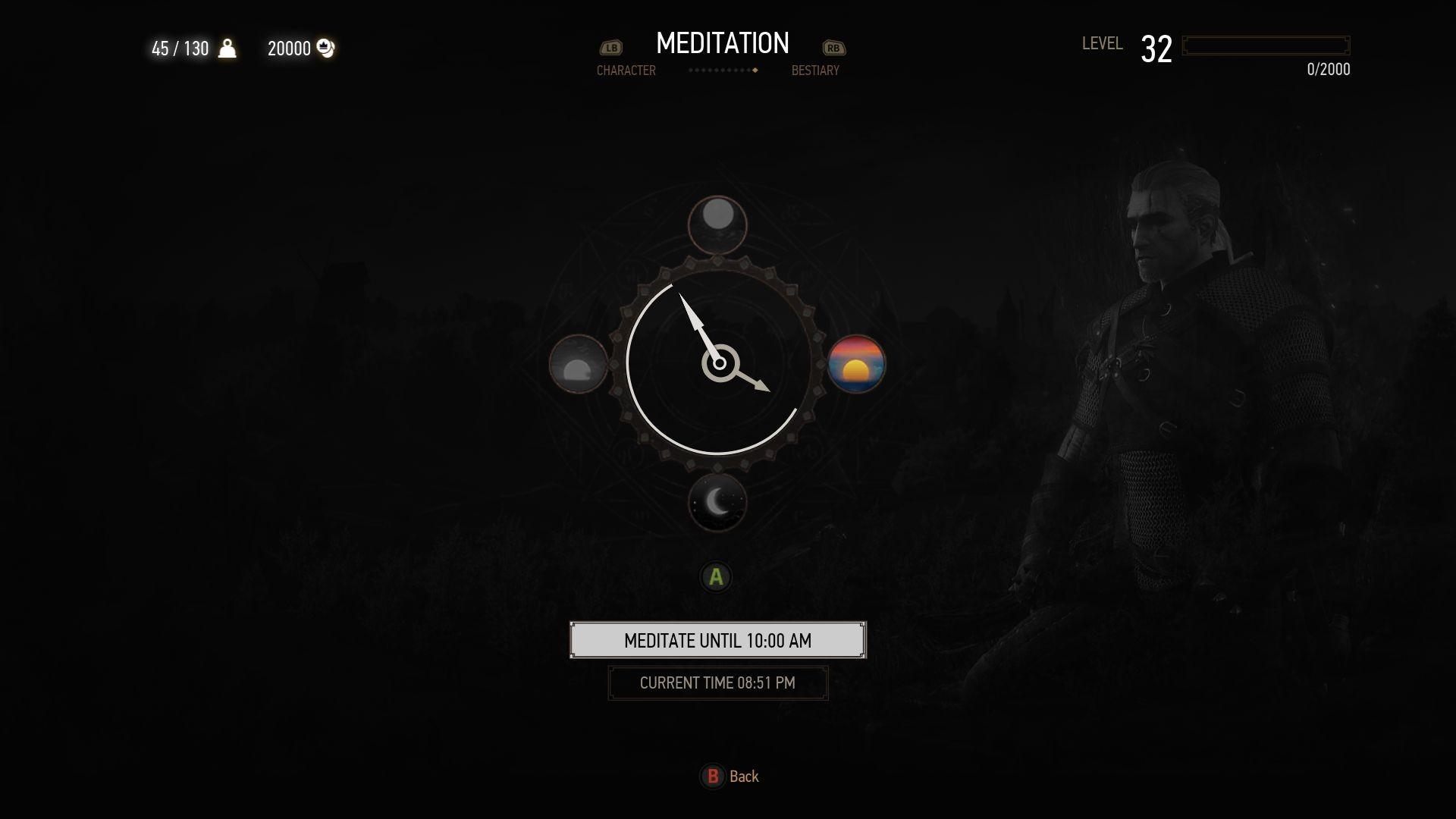 ArtStation - Witcher 3 UI Redesign, Dan Voinescu