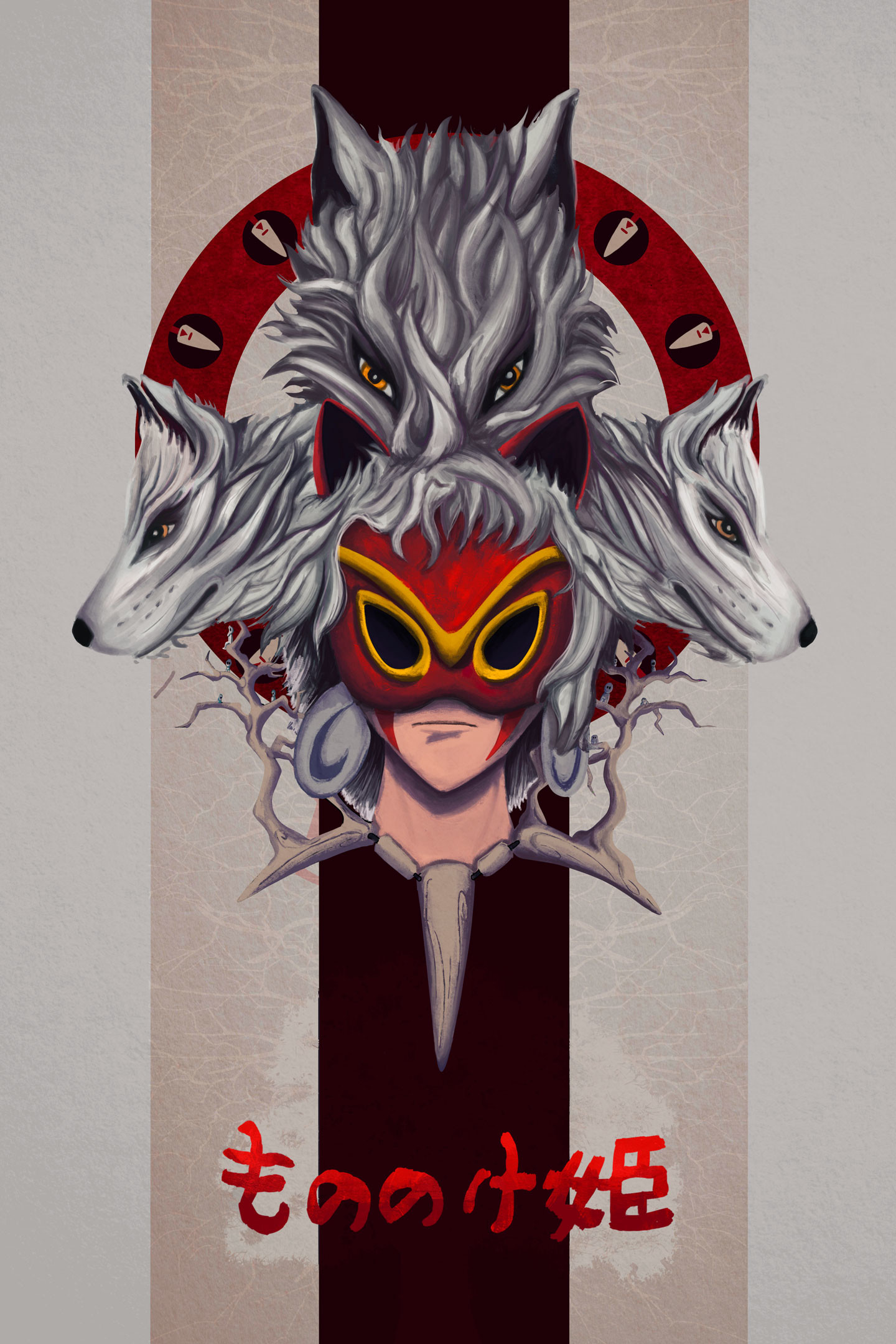 Jacob aybara princess mononoke web