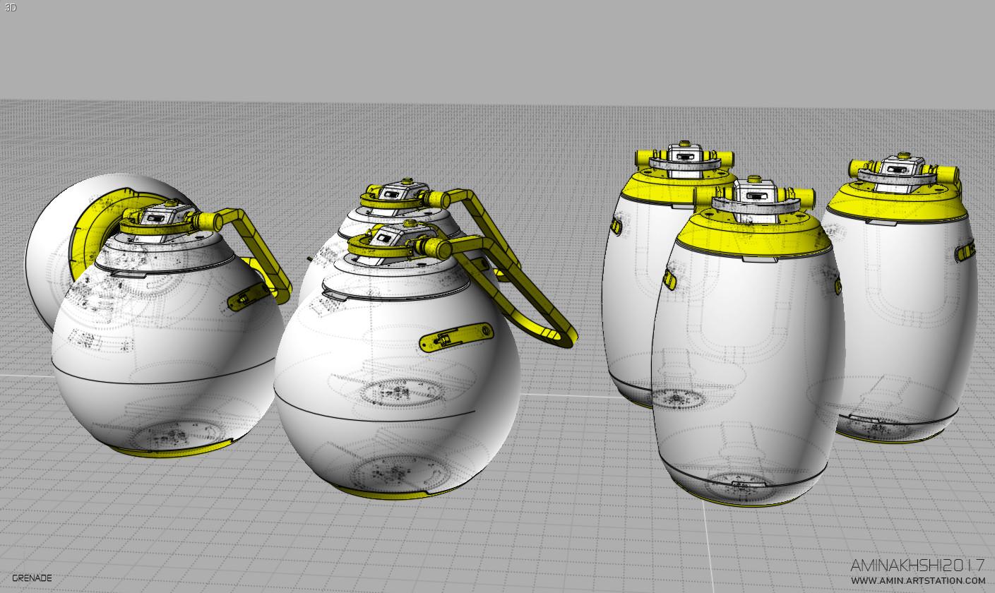 Amin akhshi 012 grenade
