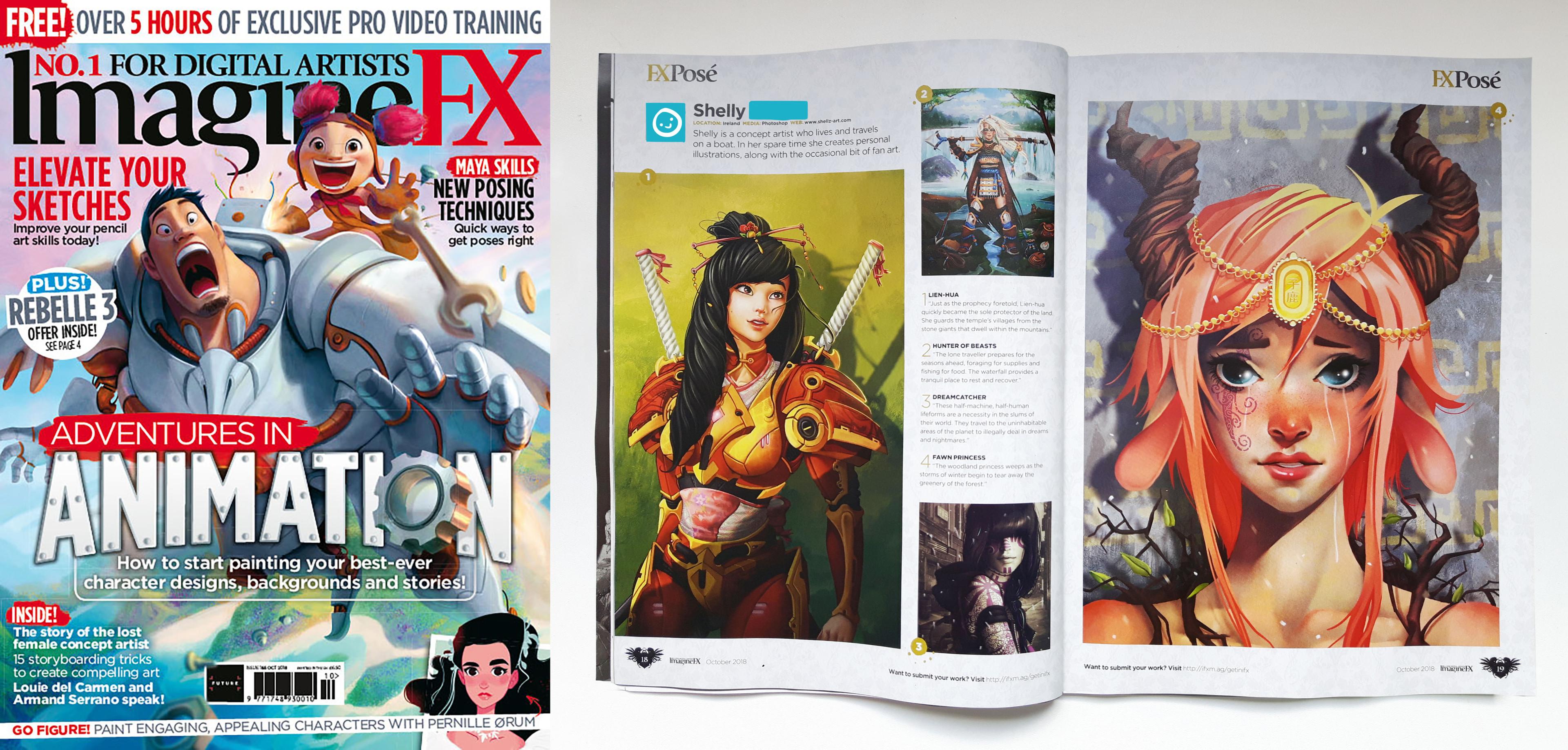 Imagine FX Issue #165