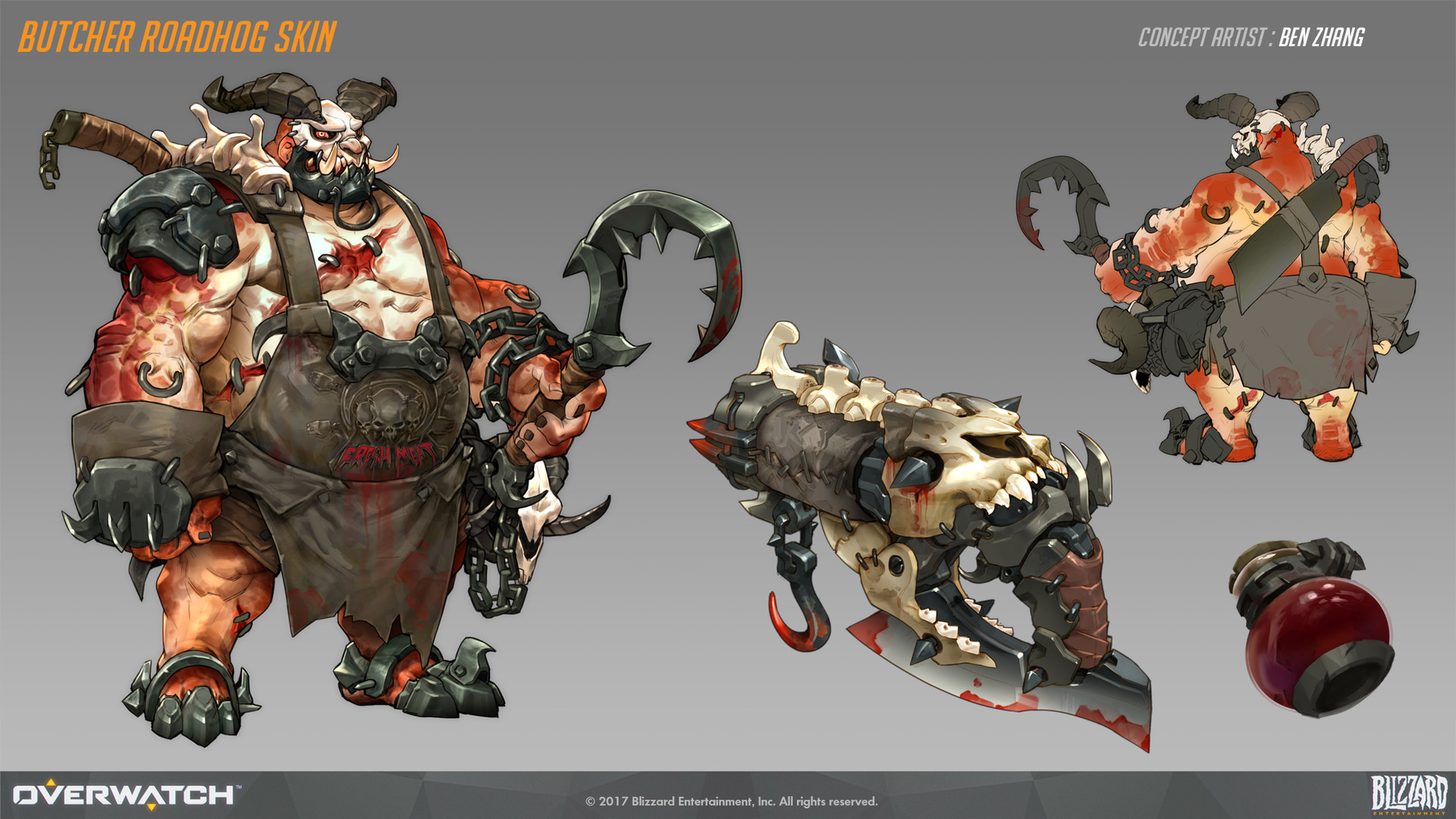 Ben zhang butcher roadhog