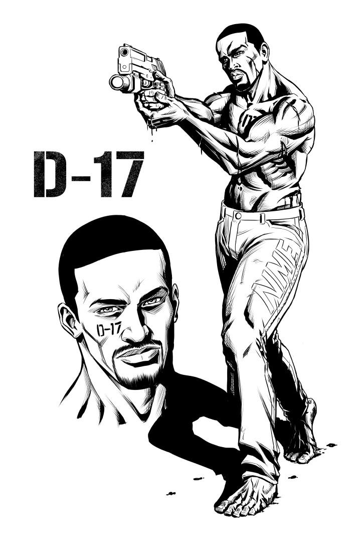 D-17 character design