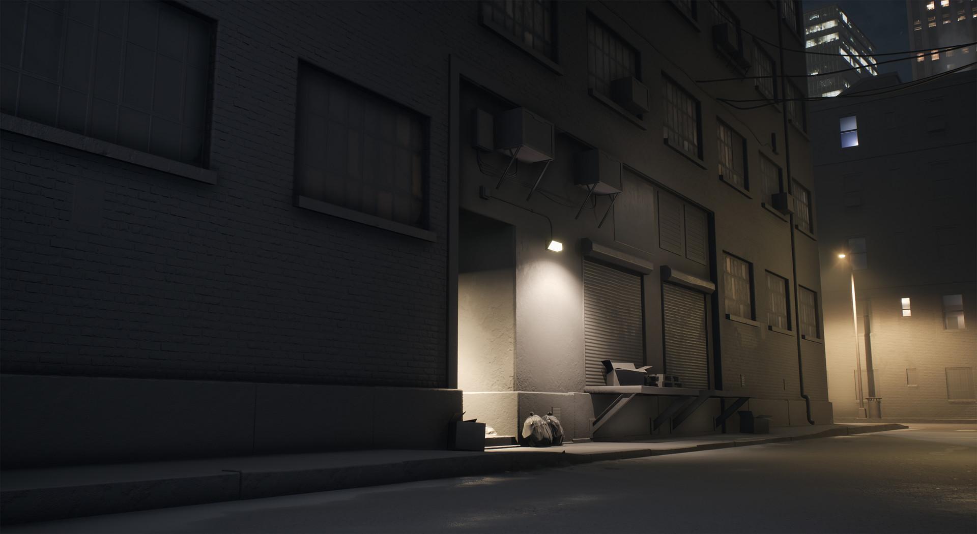 Detailed lighting shot.