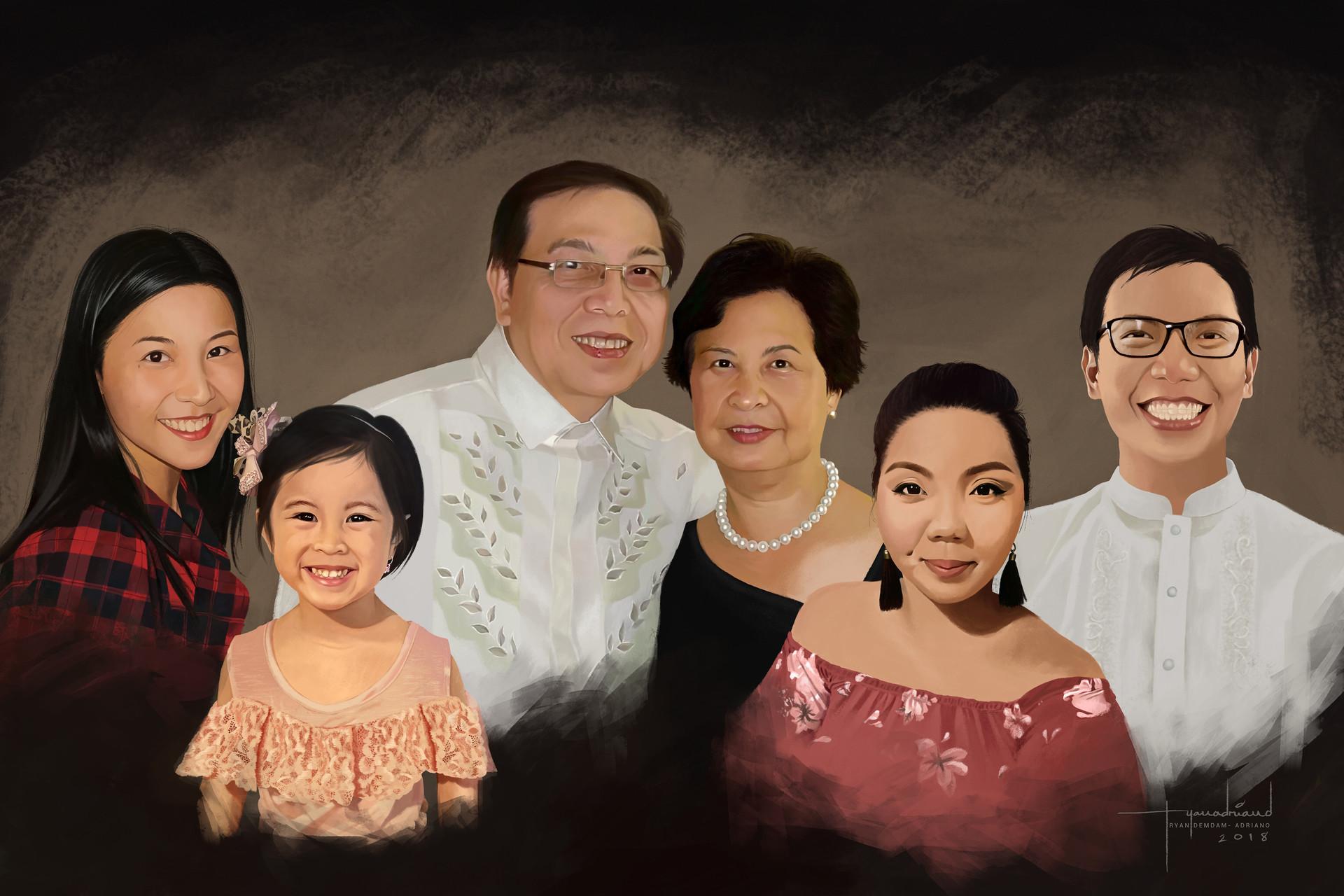 Rye adriano family portrait lower version