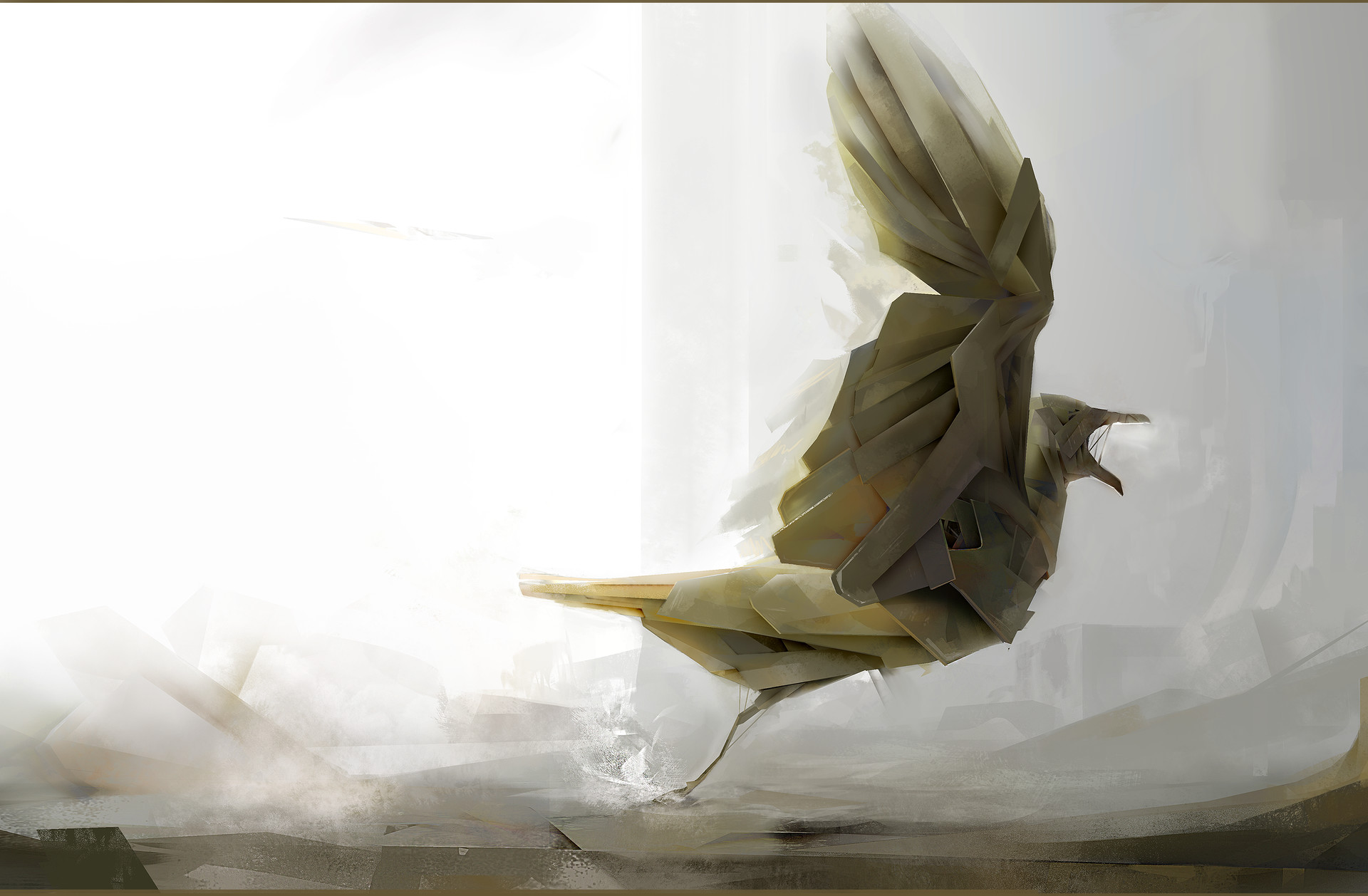 Antoine Baudino - Mechanic Bird