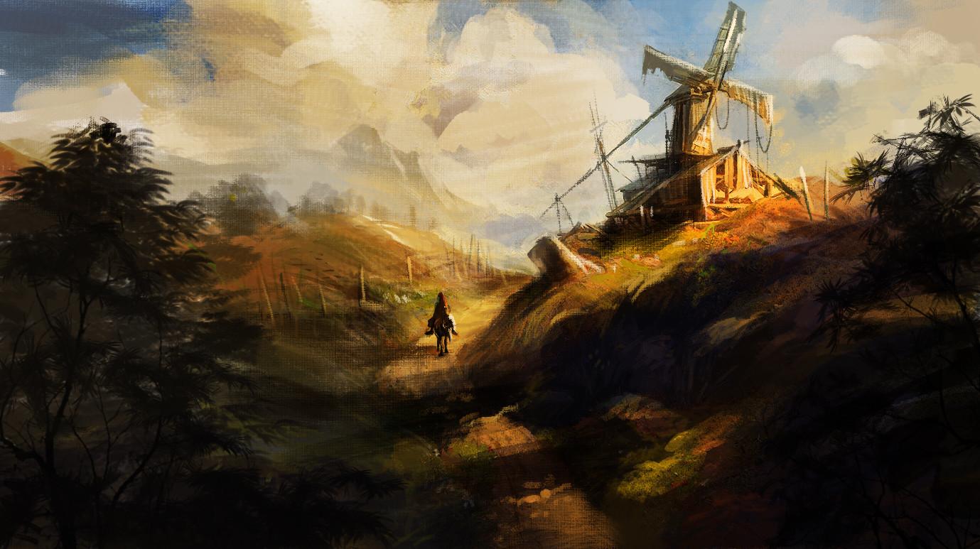 abandon wind mill