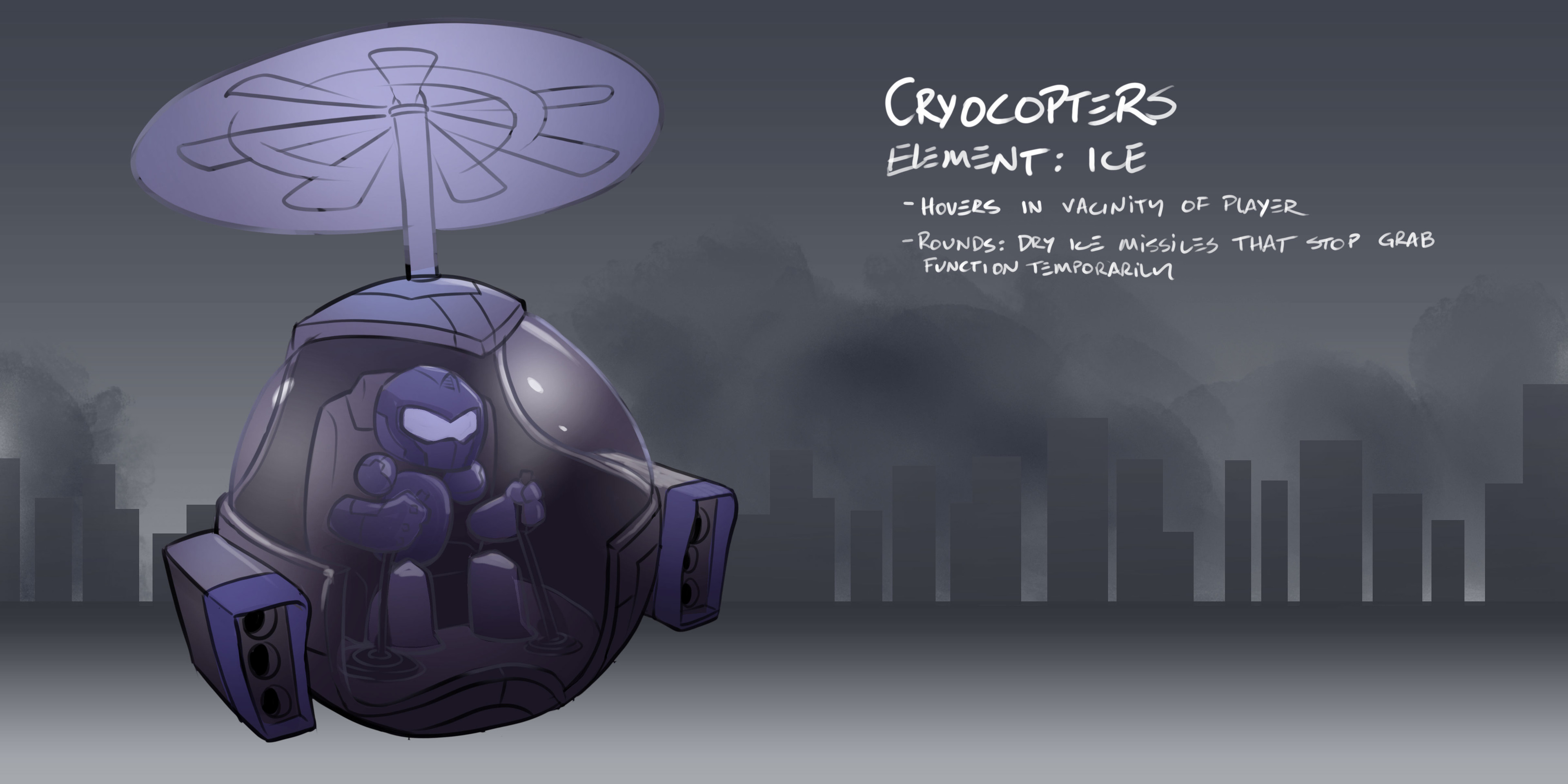 Cryocopter - Early Concept