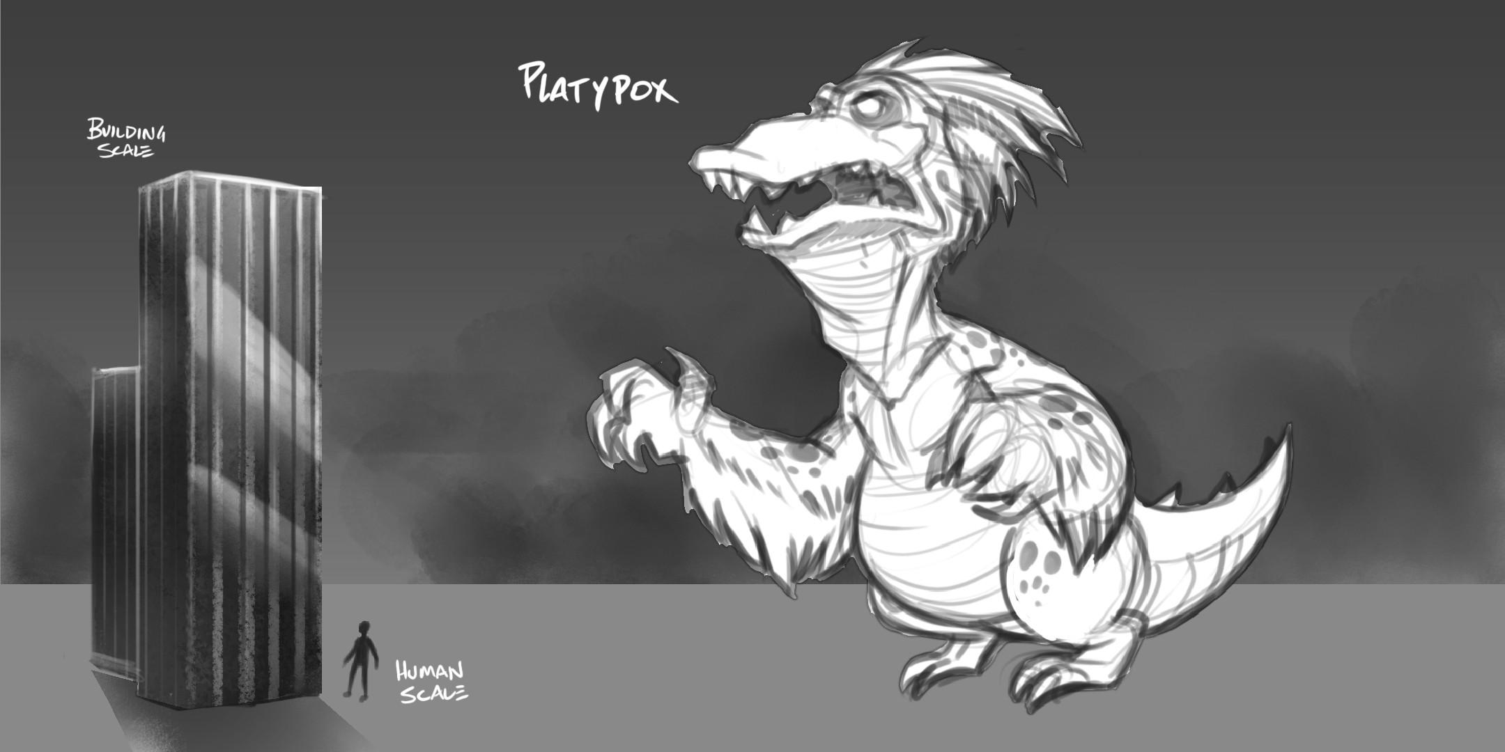 Platypox Creature Concept