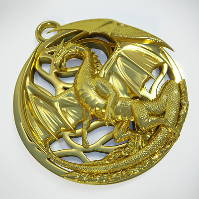 Anton pikalov dragon pendant september 2015