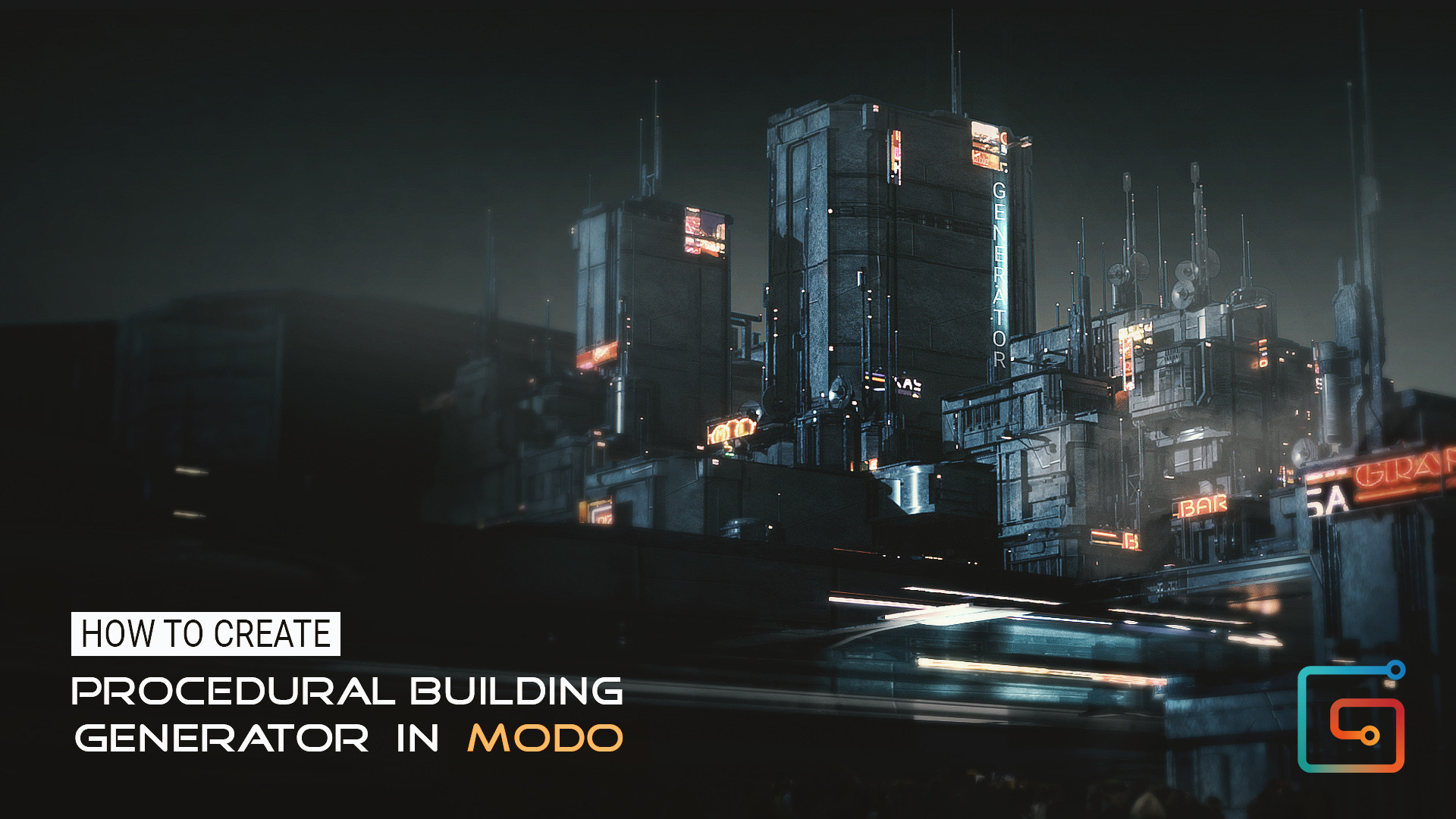 ArtStation - Gumroad - How to create Procedural Building