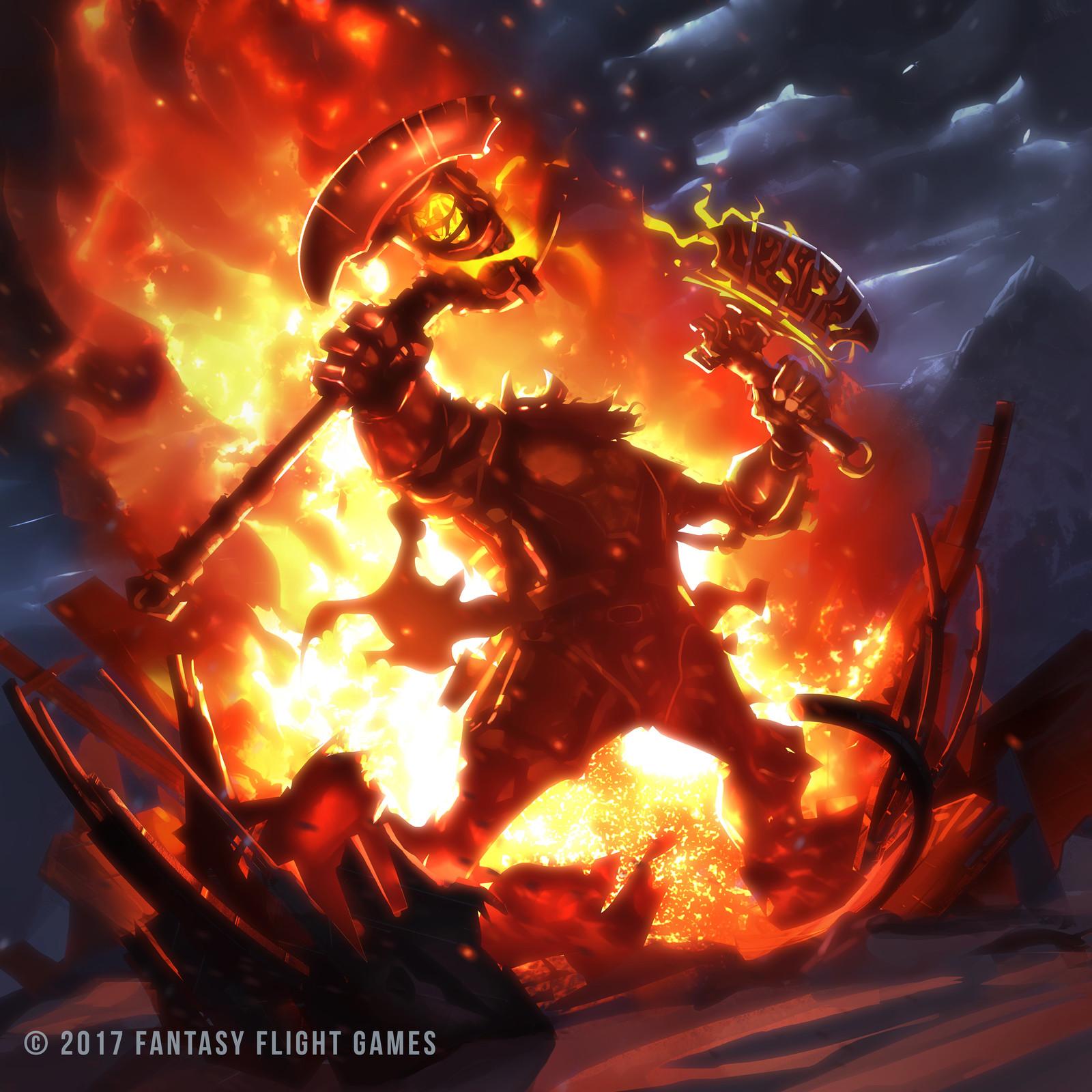 Keyforge: Burn the Stockpile
