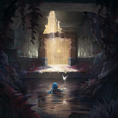 Tom garden water temple03