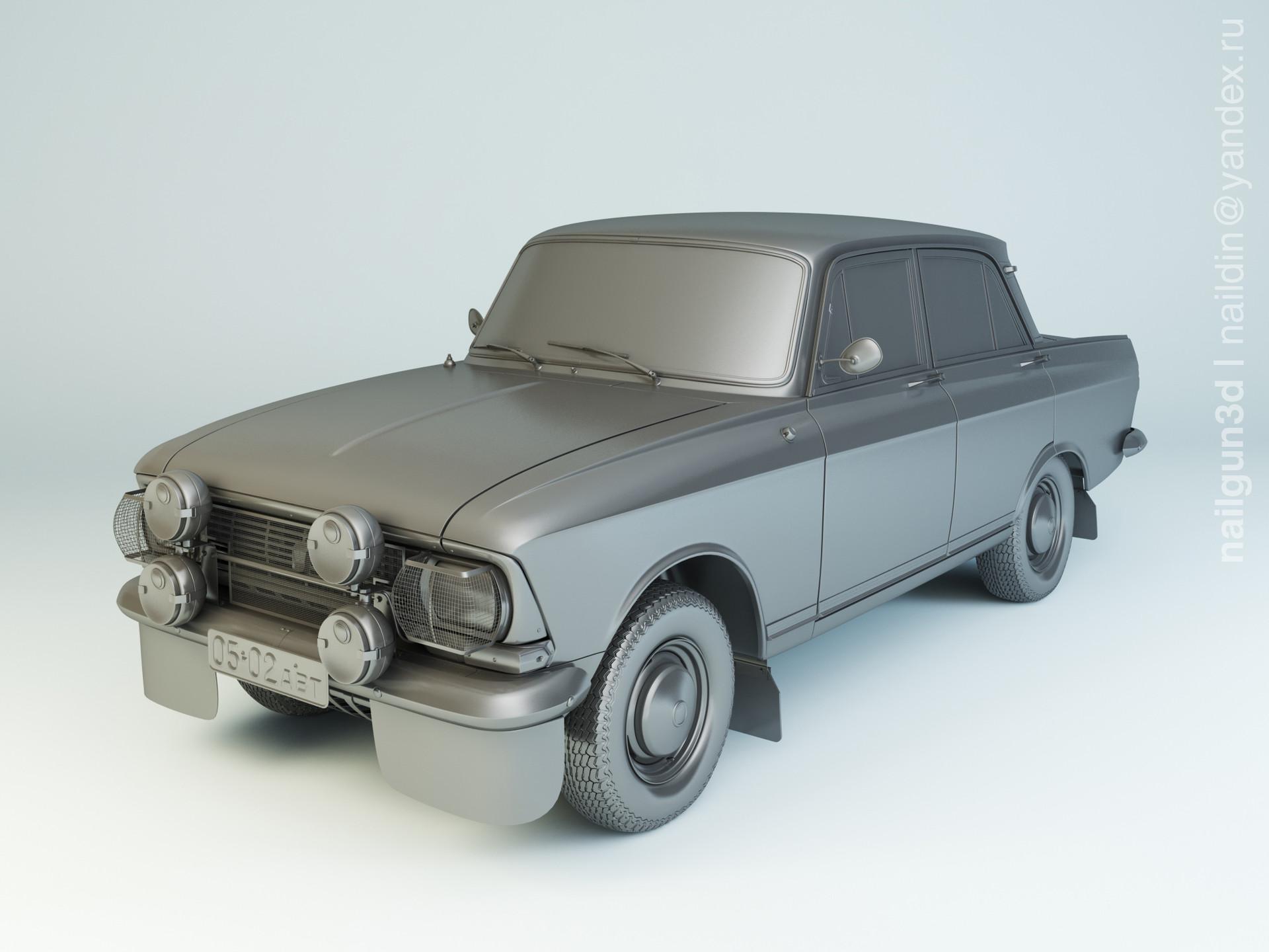 Nail khusnutdinov als 211 002 azlk moskvich 412 rally modelling 0