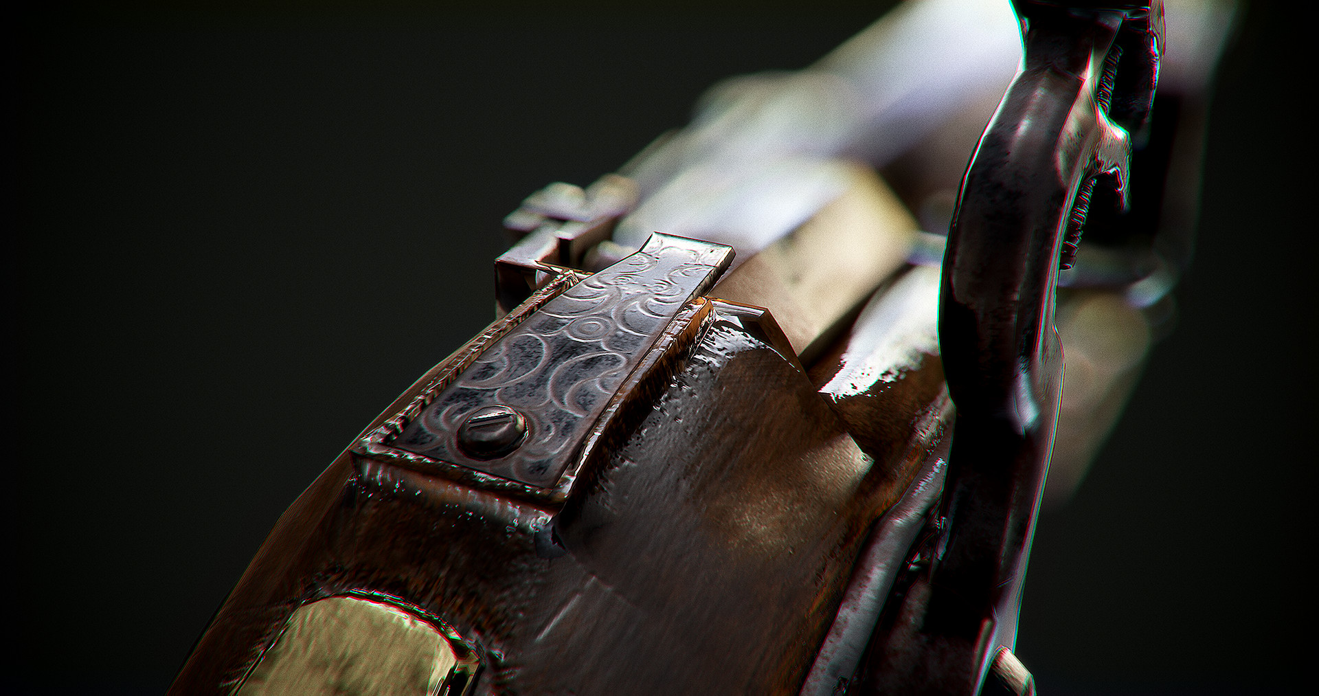 Hannu koivuranta artstation barrelholder detail