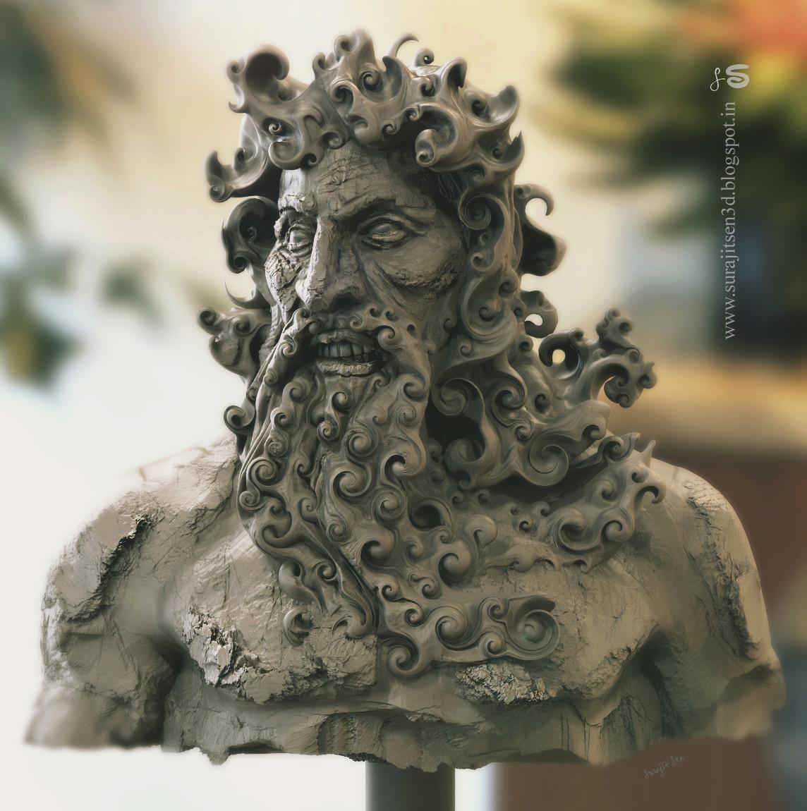 Surajit sen furious king speed sculpt by surajit sen a