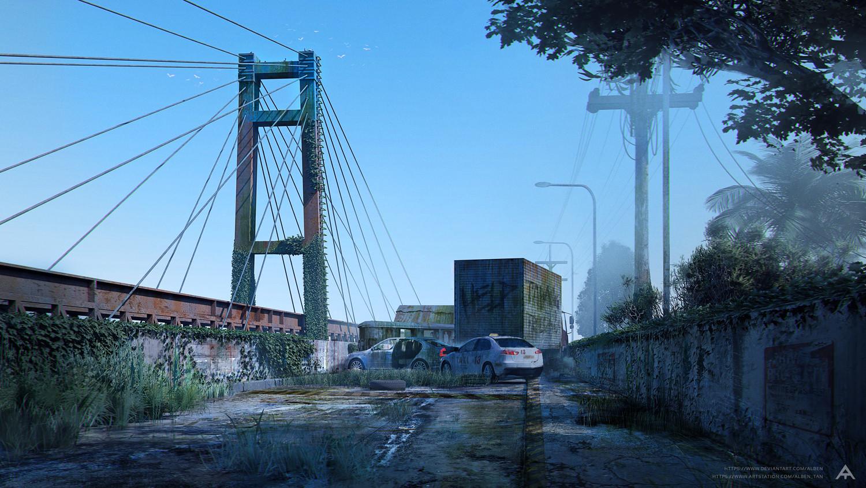 Abandoned Bankerohan Bridge - Concept Art