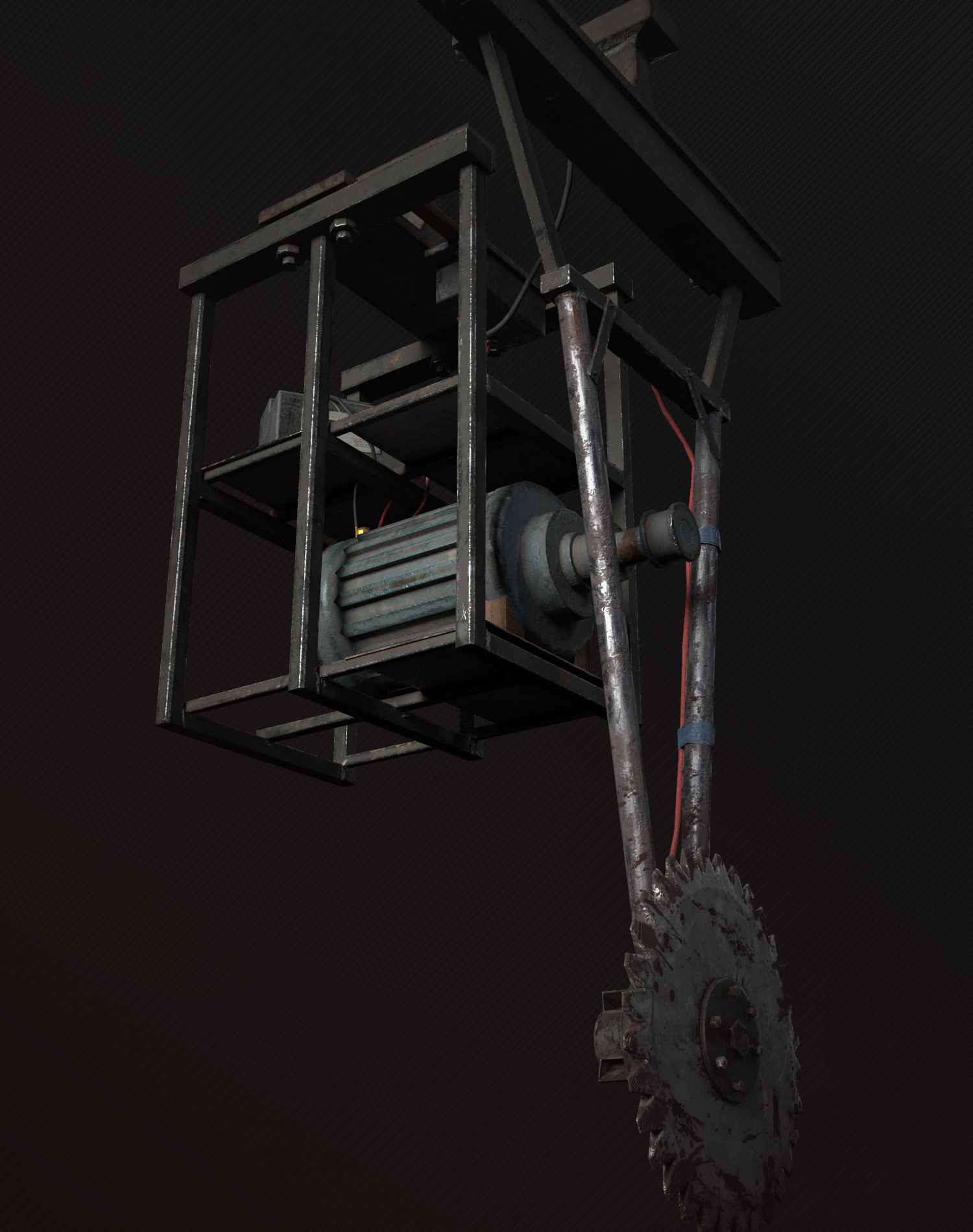 ArtStation - Torture machine (Saw), Sandro Kornely