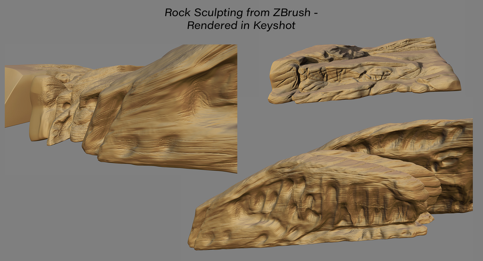 David s rodriguez rock sculpting in zbrush