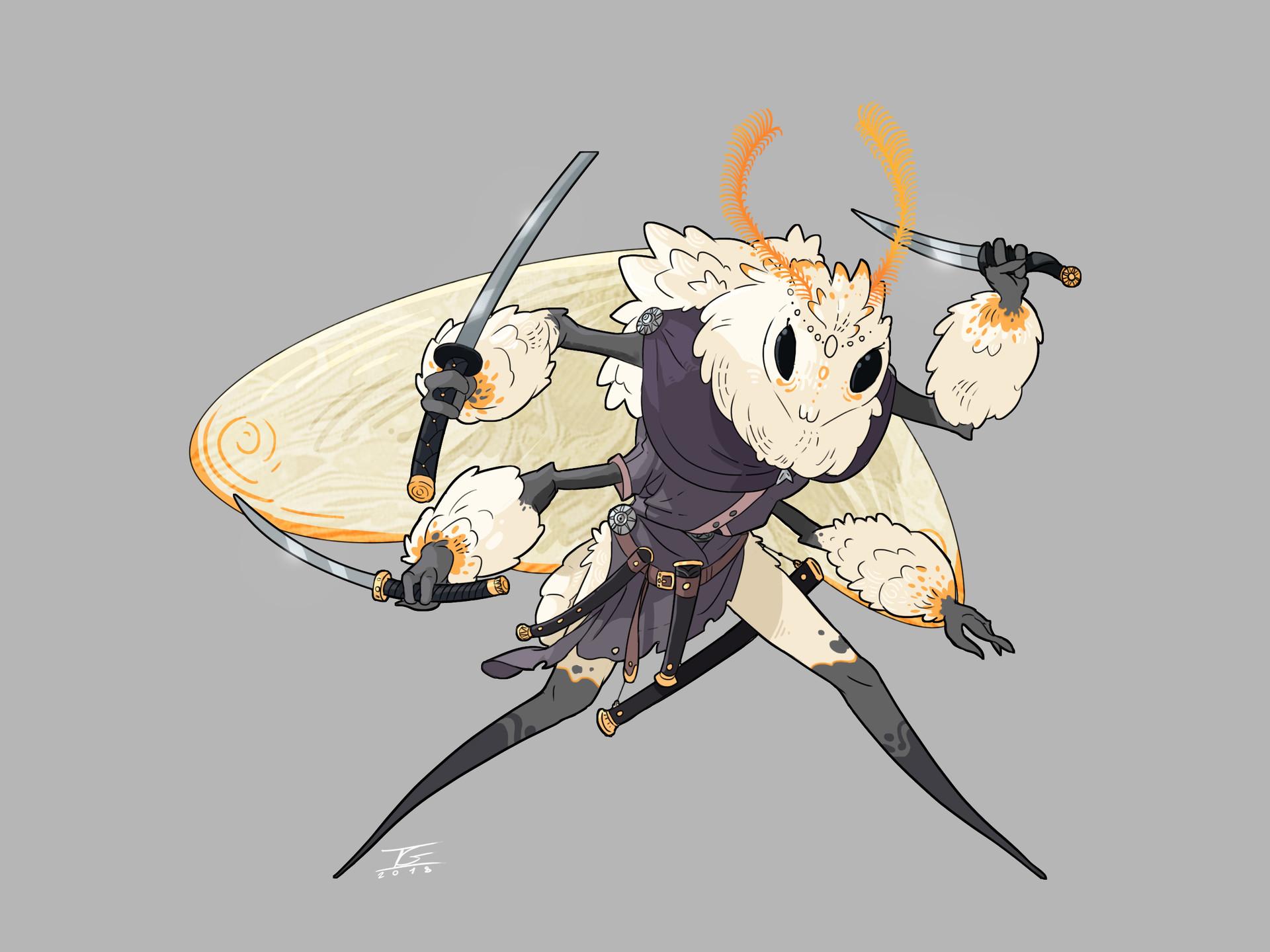 Ismael gil moth warrior