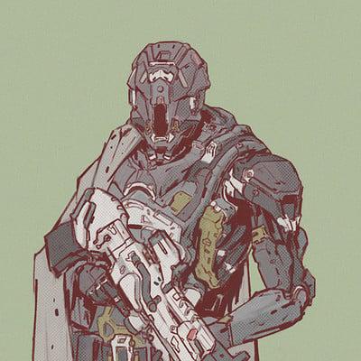 Elijah mcneal soldier sketch