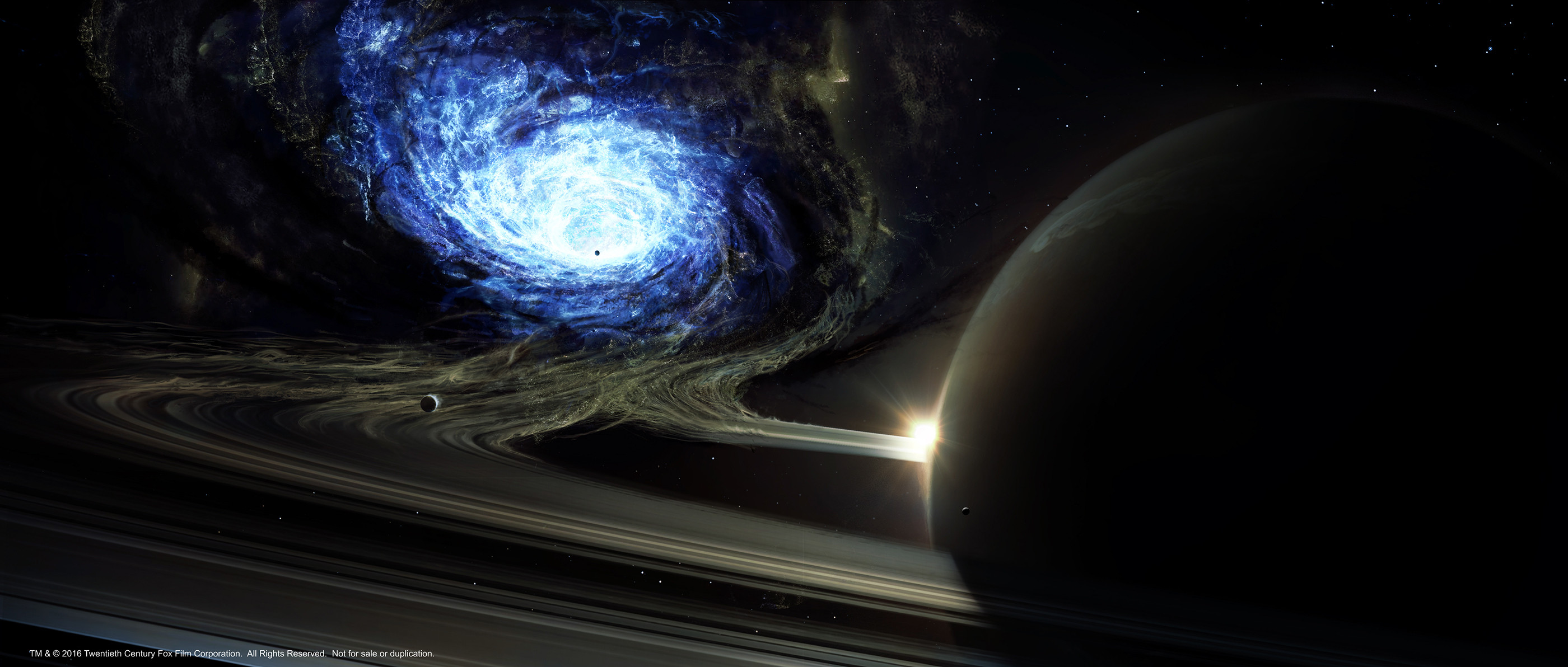 Wormhole, phase 3. Collaboration with concept artist Luis Guggenberger.