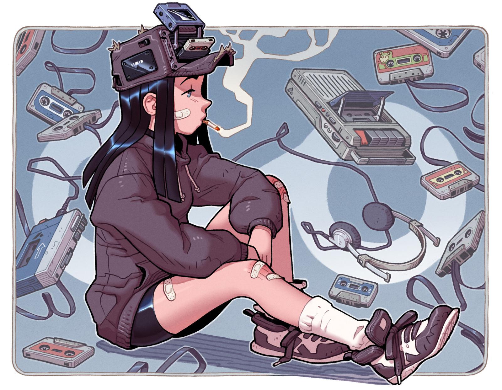 Fan-Art: Cassette Girl