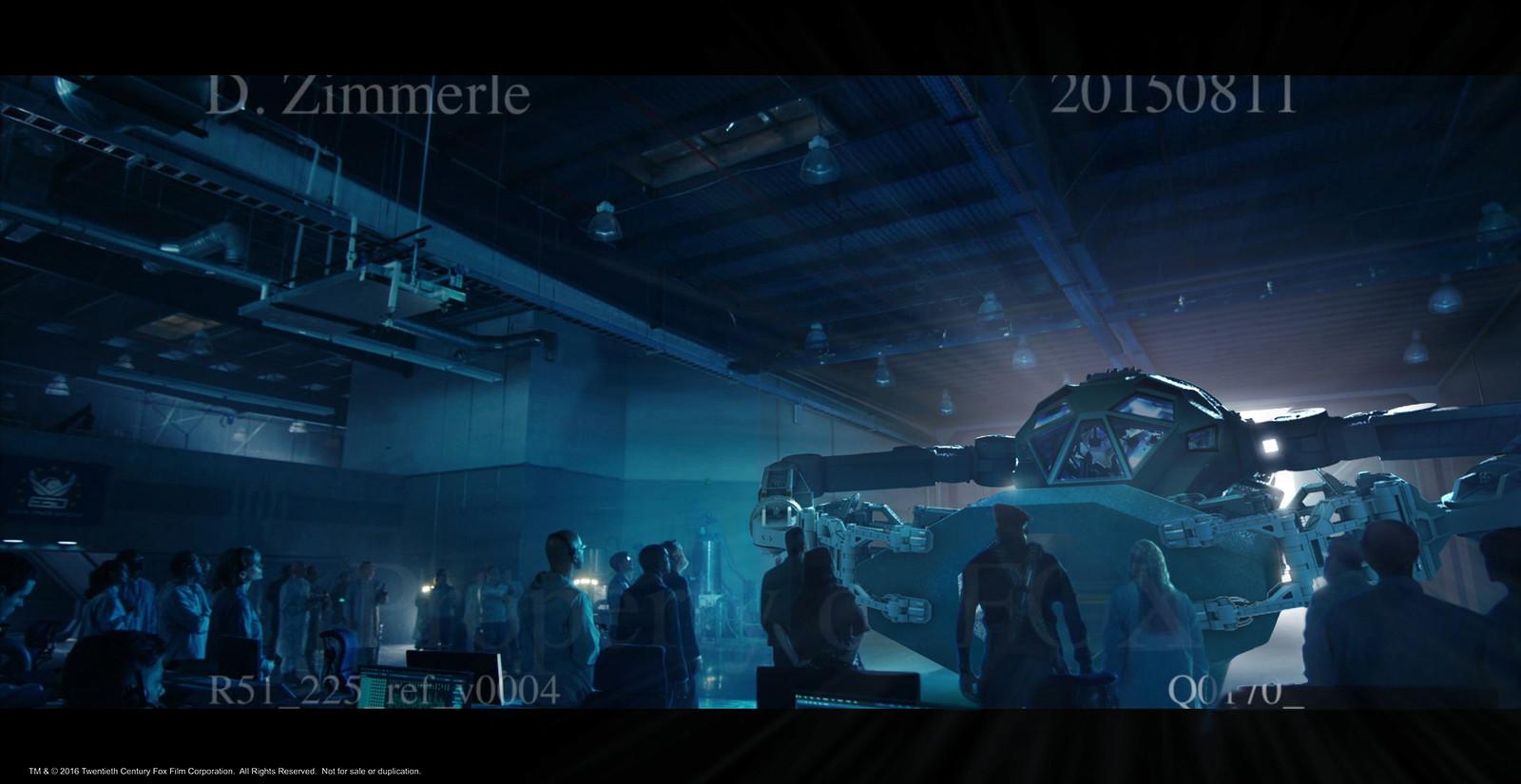 Area 51 hangar set estension.  Part 3 of 4