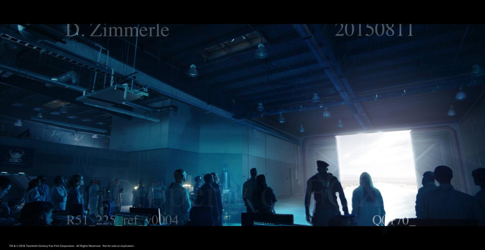 Area 51 hangar set estension.  Part 2 of 4