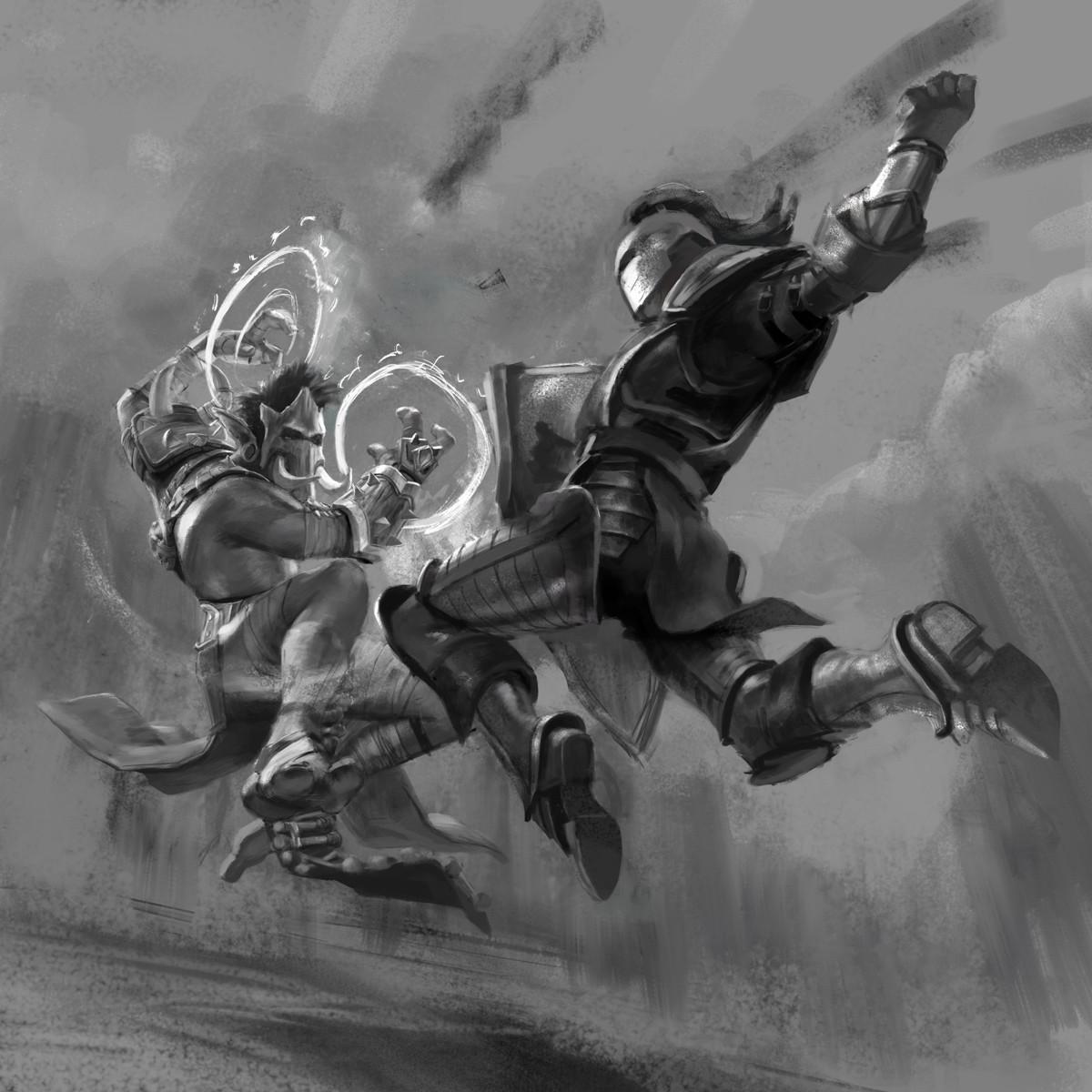 Marta nael shamantroll warrior col
