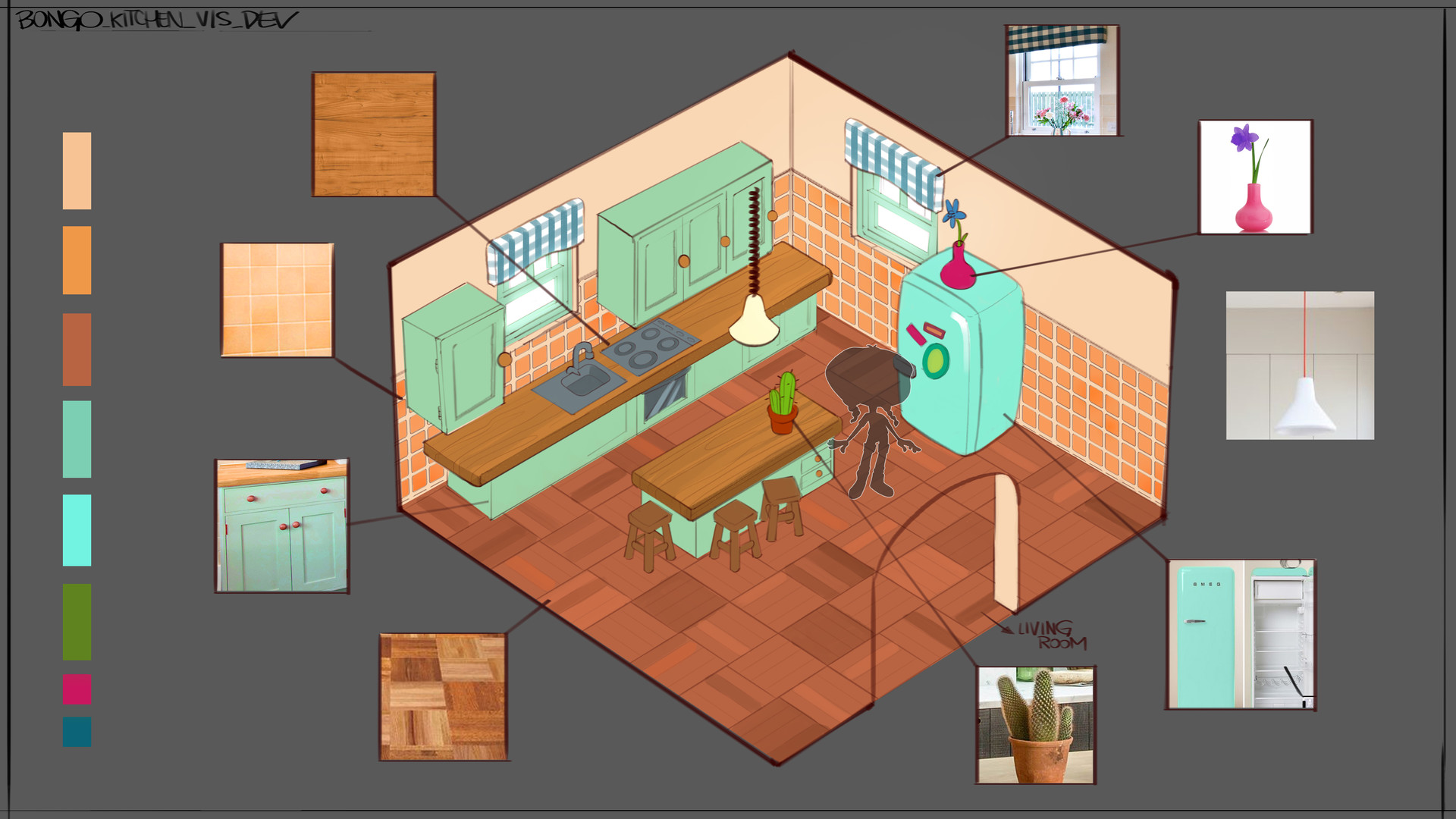 Francesco mazza bongo kitchen sketch viz dev v01
