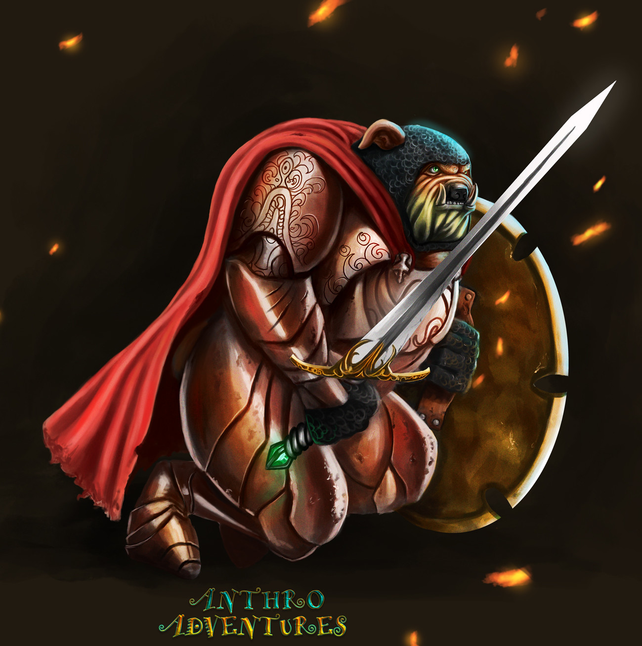 Bulldog knight