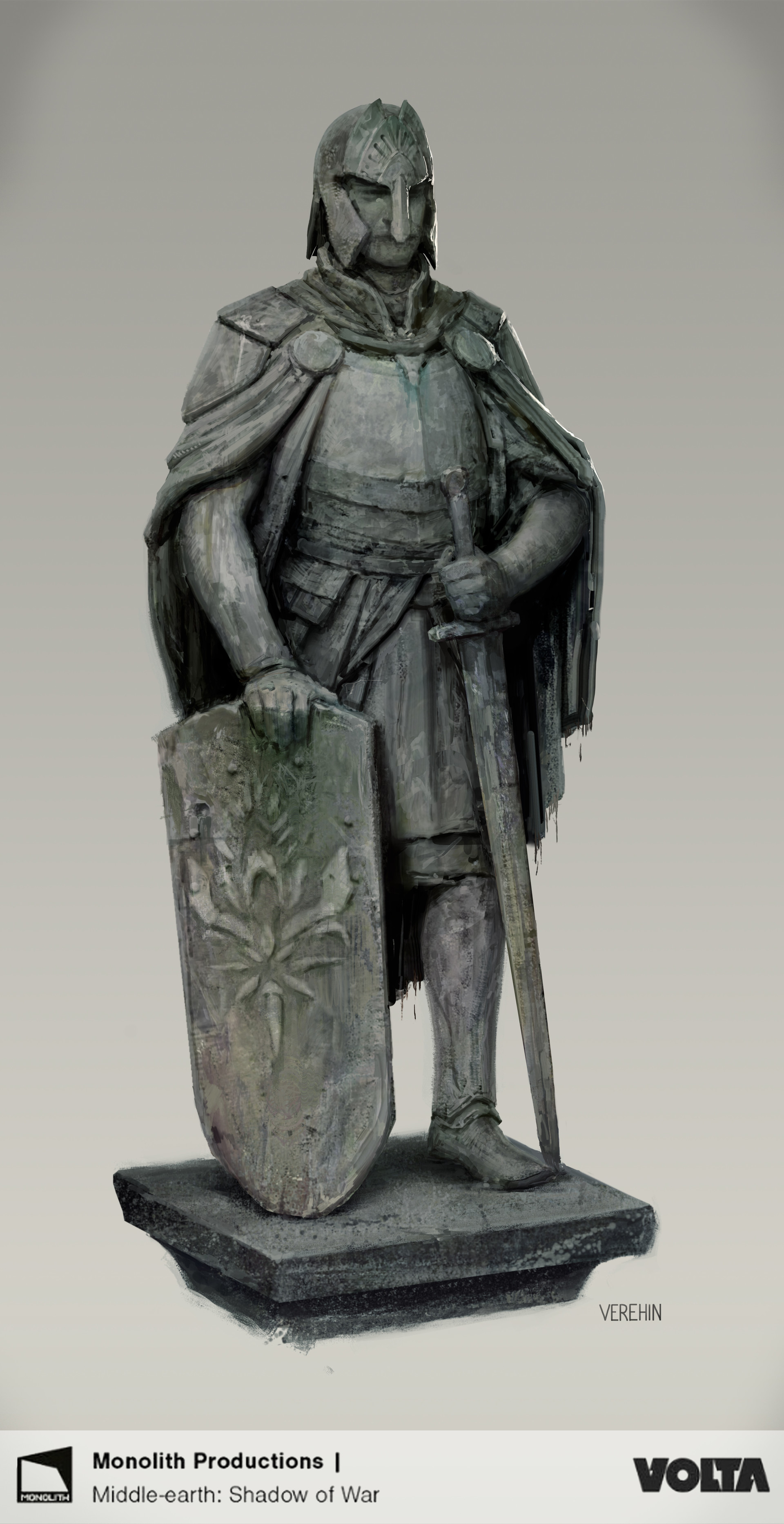 Maxim verehin knight statue
