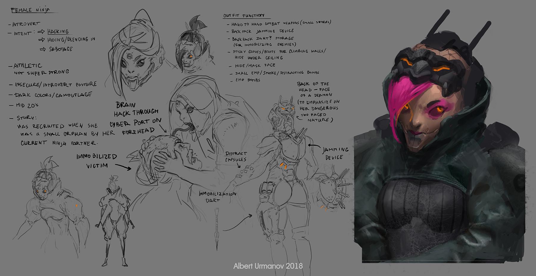Albert urmanov sketches3