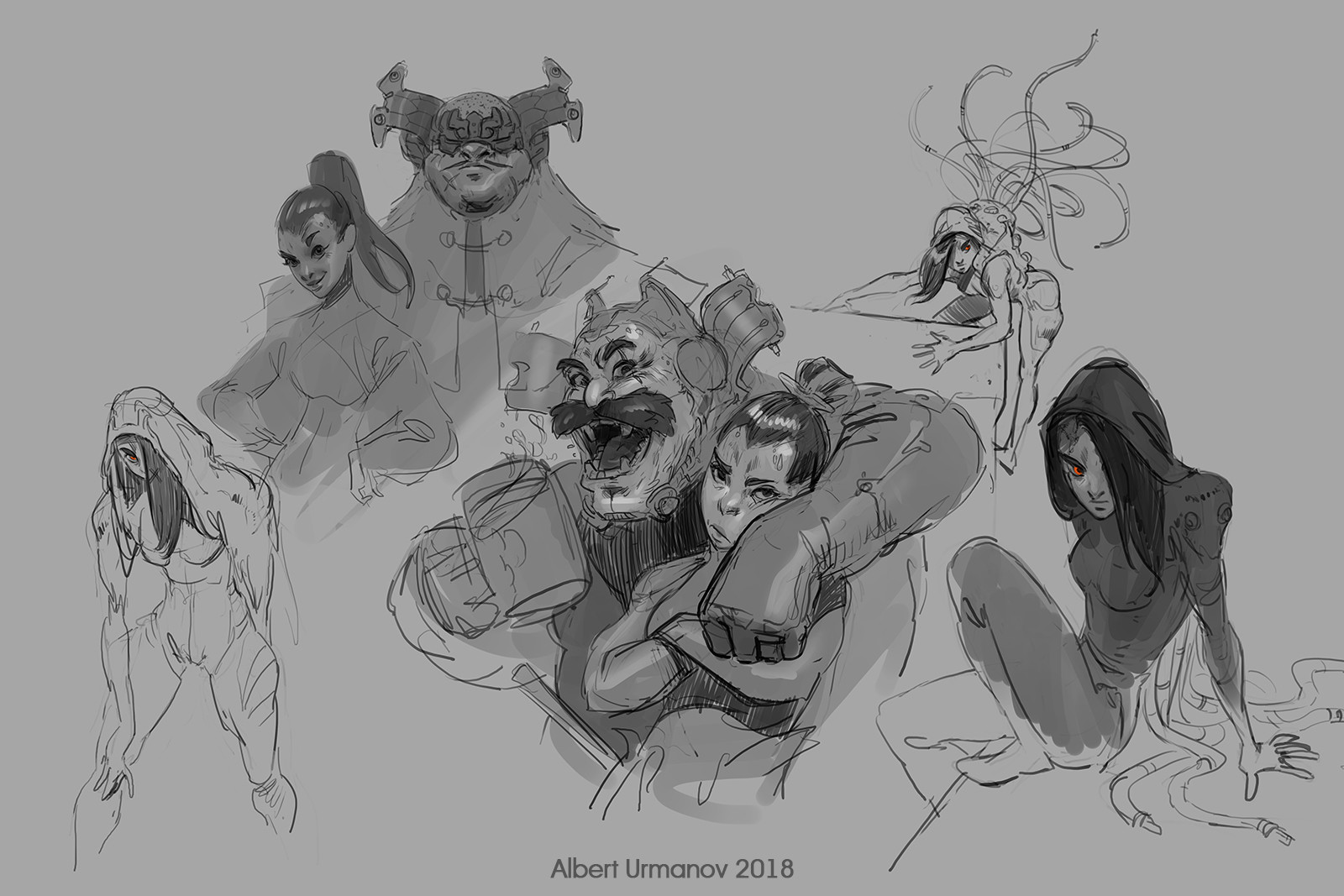 Early sketches and ideas