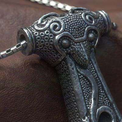 Darko mitev thor s hummer necklace07