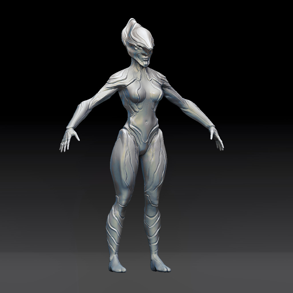 Refined sculpt