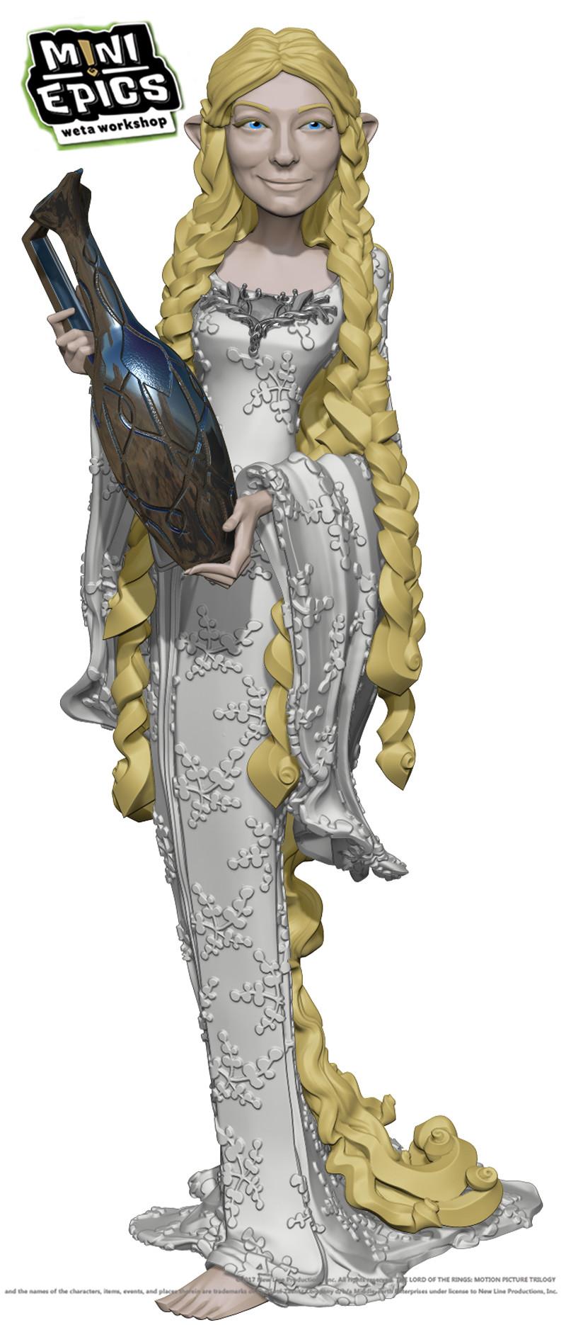 Mauro santini galadriel 4