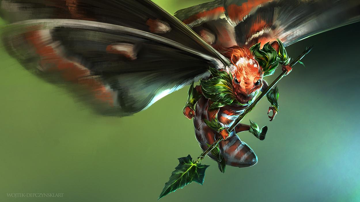 Wojtek depczynski moth warrior low