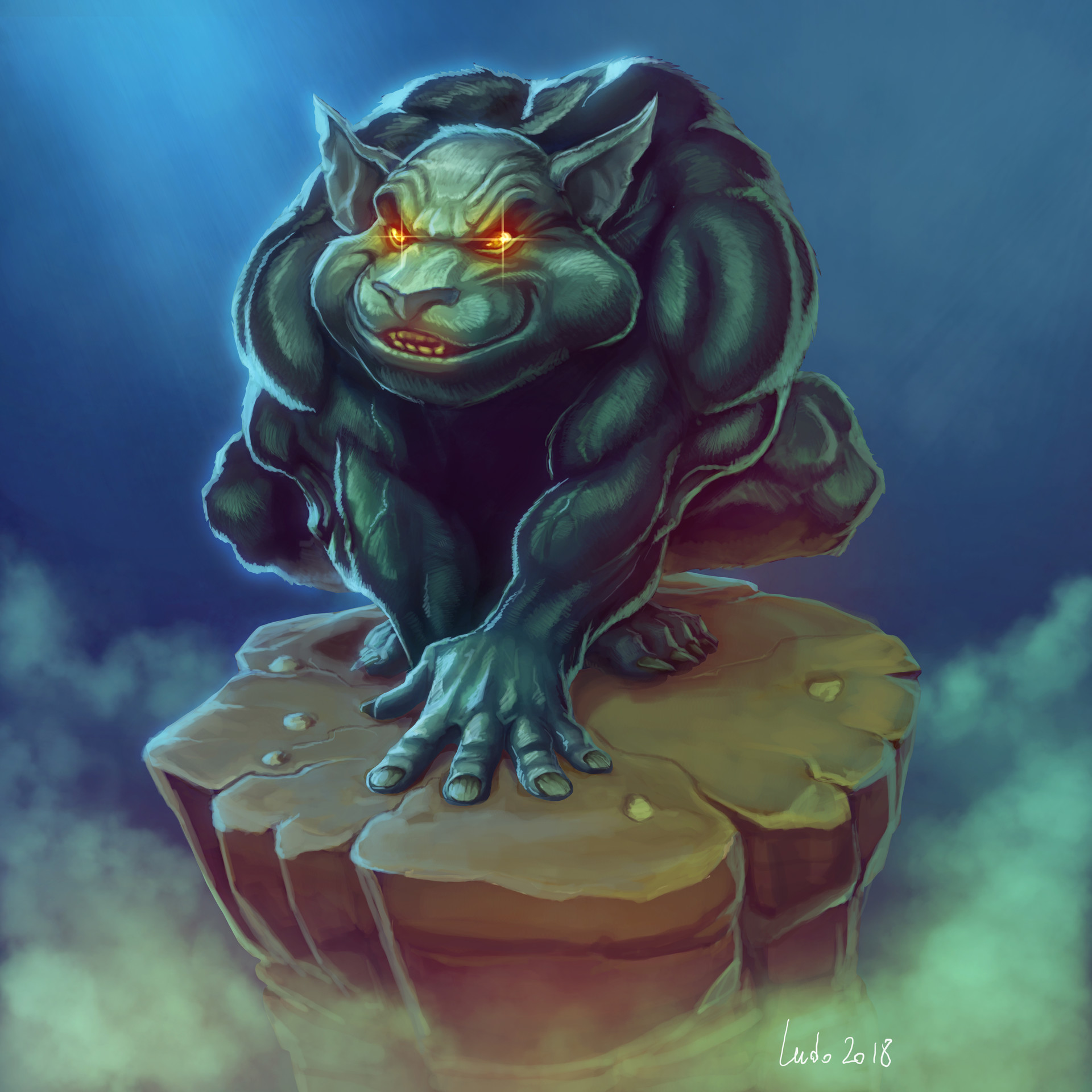 Ludovic rivalland cat
