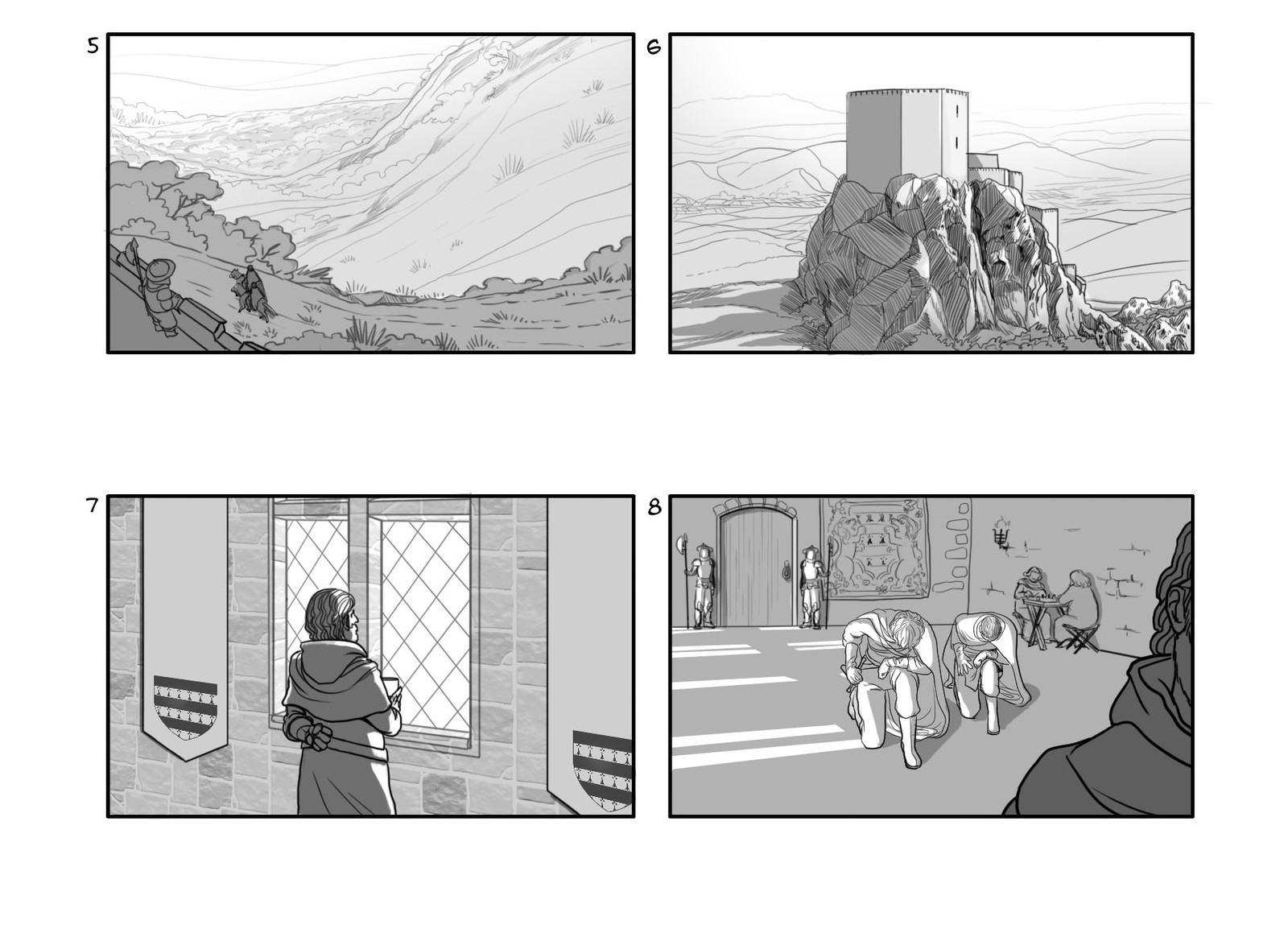 Storyboard made for a web video for the Occitanie region/county in France - Page 2 - (In French)