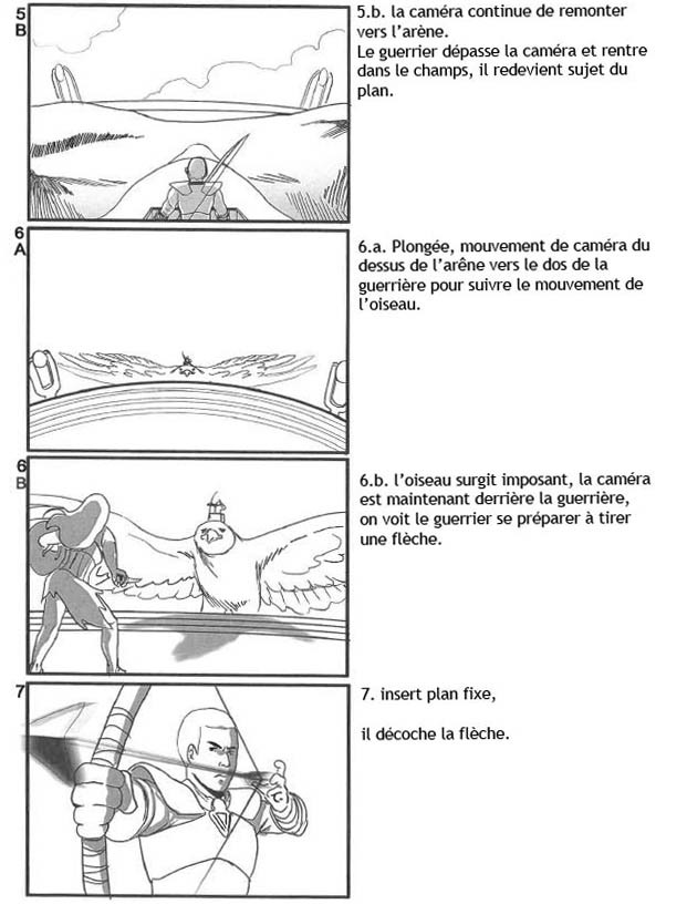 Storyboard for a Fantasy short. Live action with 3D Backgrounds - Page 3 - (In French)