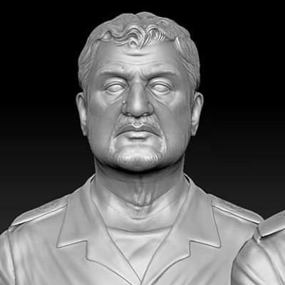 Eddie faria mohammx ali jafari sculpt by akasha1x d6p780u