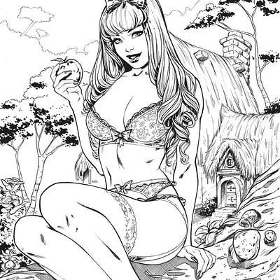Elias chatzoudis snow white inks by elias chatzoudis dc14jd2