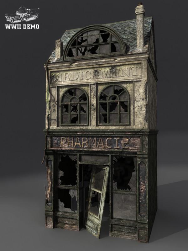 Eddie faria wwii normandy building by akuma1x