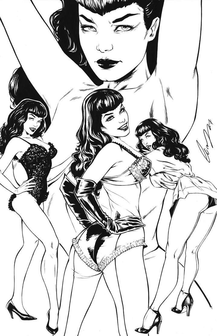 Elias chatzoudis bettie page by elias chatzoudis dbl0s6d