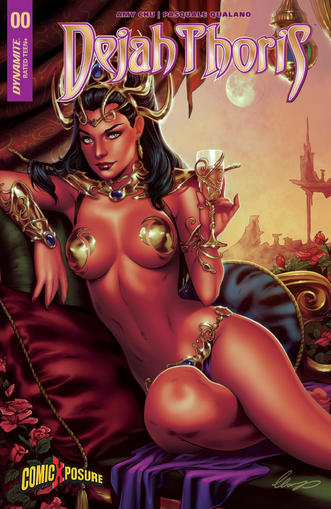 Elias chatzoudis dejah thoris 0 by elias chatzoudis dbvs228