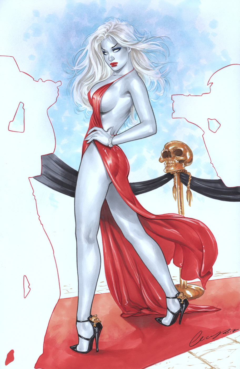 Lady Death Variant Cover