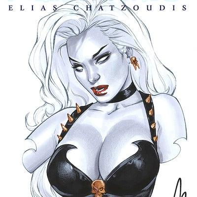 Elias chatzoudis lady death by elias chatzoudis dbkn25j